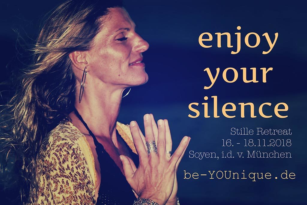 enjoy your silence